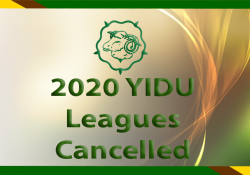 YIDU Leagues Cancelled